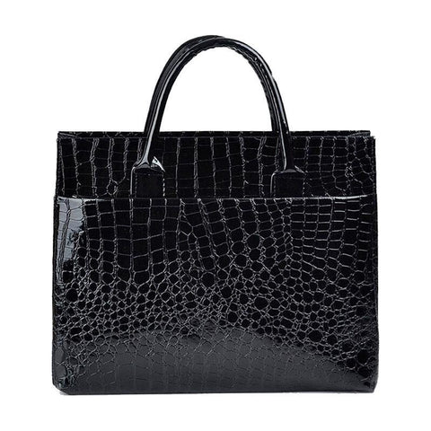 black crocodile bag 2