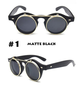 Steampunk Retro Fit Sunglasses