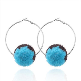 pom_pom_earrings_fur_ball_hoop_earrings
