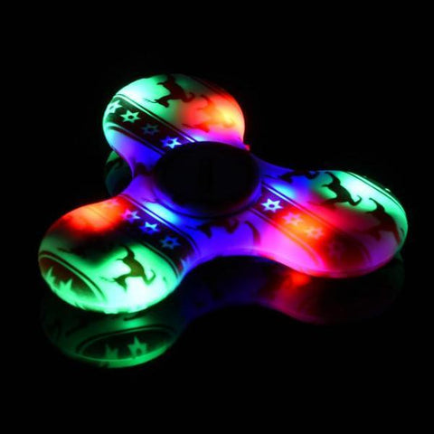 fidget spinner LED bluetooth