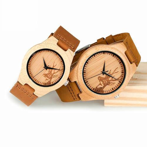 wooden watch bamboo men women