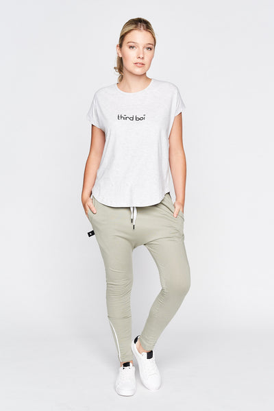 Fred Tee - Light Grey Marle