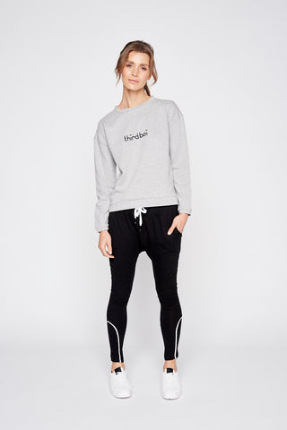 Maxim Sweat - Mid Grey Marle