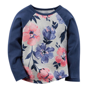 Autumn Winter Baby Girls tshirt