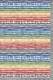 Fall Rainbow Stripes - Organic Cotton/Spandex Euro Knit Jersey