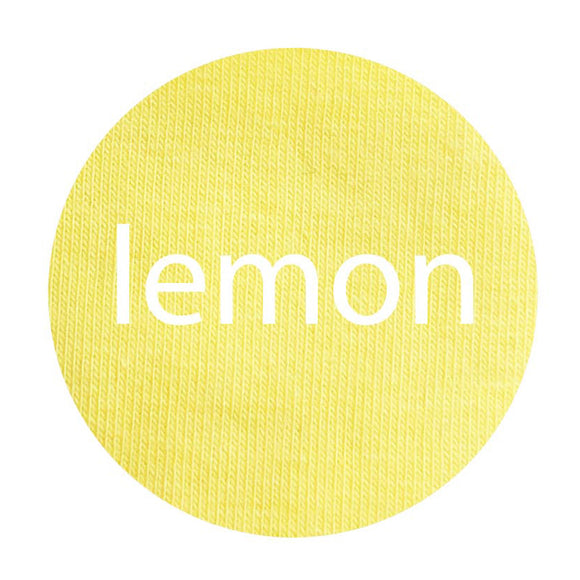 Lemon - Organic Cotton/Spandex Euro Knit Jersey