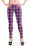 PLAID - Mulberry - Organic Cotton/Spandex Euro Knit Jersey
