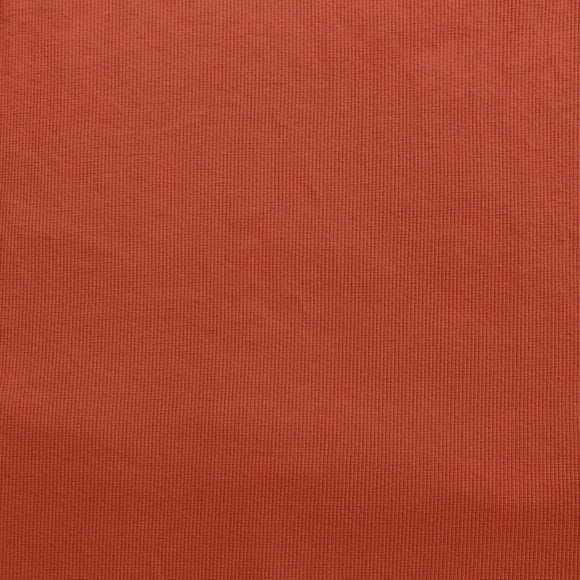RUST - 2x1 RIBBING - Organic Cotton/Spandex Euro Knit Ribbing