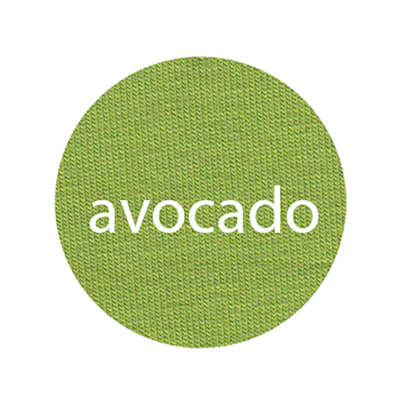 Avocado - Organic Cotton/Spandex Euro Knit Jersey
