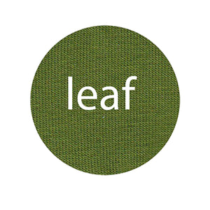 Leaf - Organic Cotton/Spandex Euro Knit Jersey