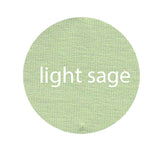 LIGHT SAGE - Organic Cotton/Spandex Euro Knit Jersey