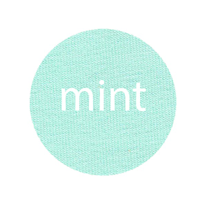 PREORDER - Mint - Organic Cotton/Spandex Euro Knit Jersey