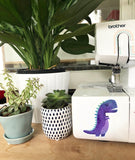 Vinyl Sticker - Purple T Rex