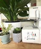 Vinyl Sticker - Floral Sewing Machine