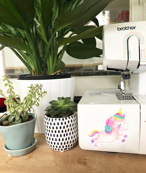 Vinyl Sticker - Rainbow Unicorn