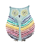Vinyl Sticker - Rainbow Owl