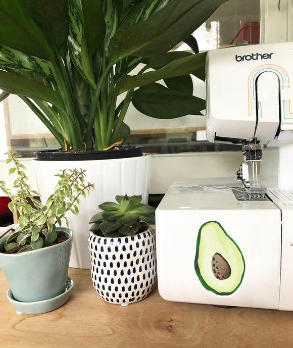 Vinyl Sticker - Avocado