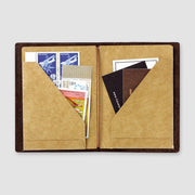 Passport Size - 010 Kraft Paper Folder Notebook