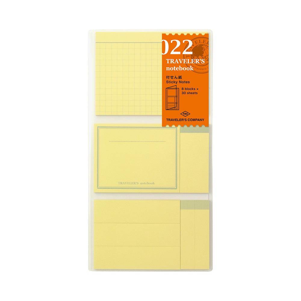 022 - Sticky Notes for Traveler's Notebook