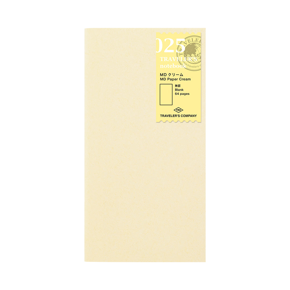 025 - MD Paper Cream Refill for Traveler's Notebook