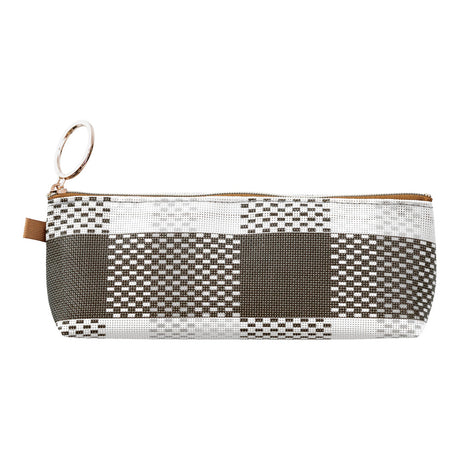 Mesh Graphic Pen Case Asst