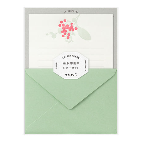 Letterpress Stationery Sets | Flowers