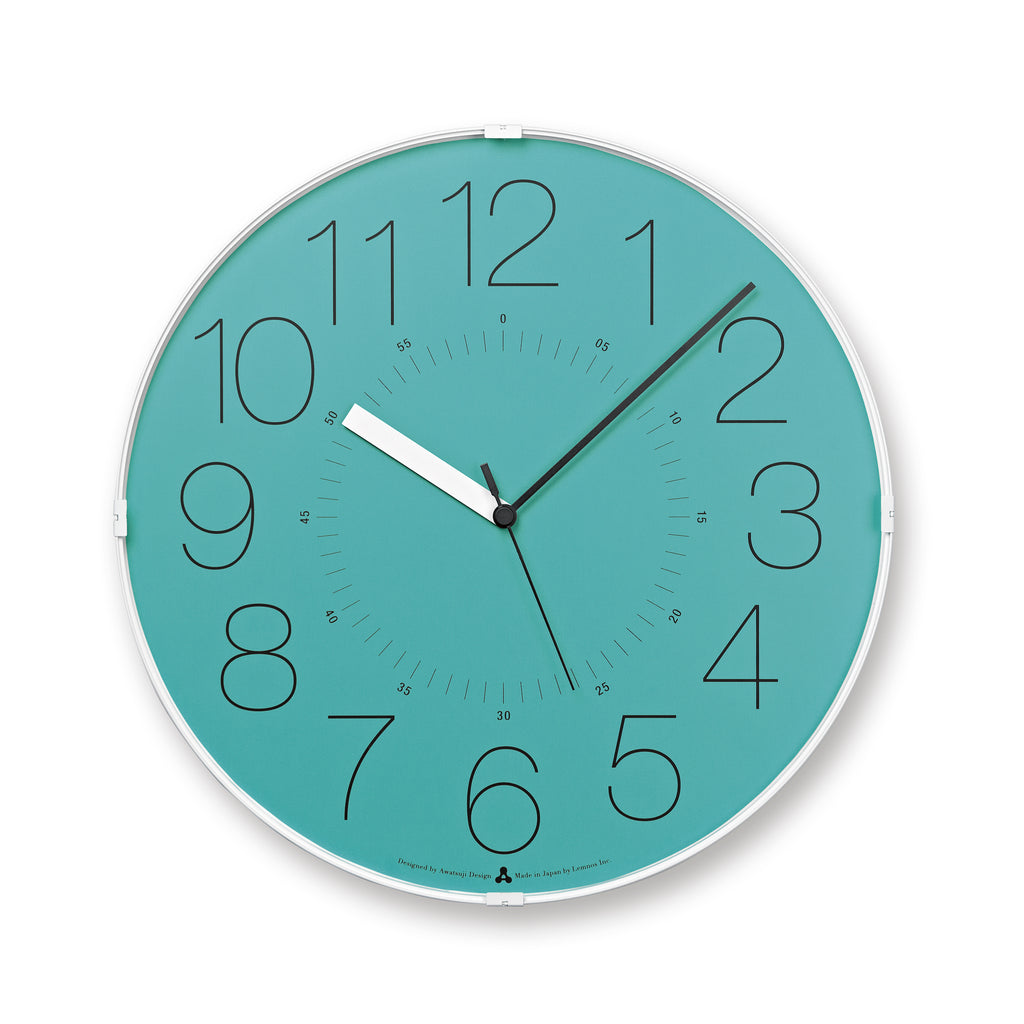 CARA Clock - Blue