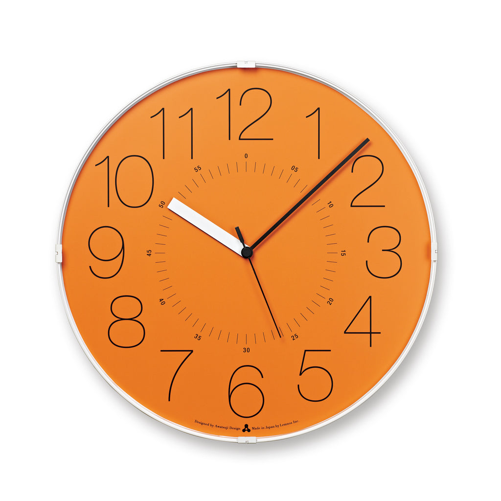 CARA Clock - Orange