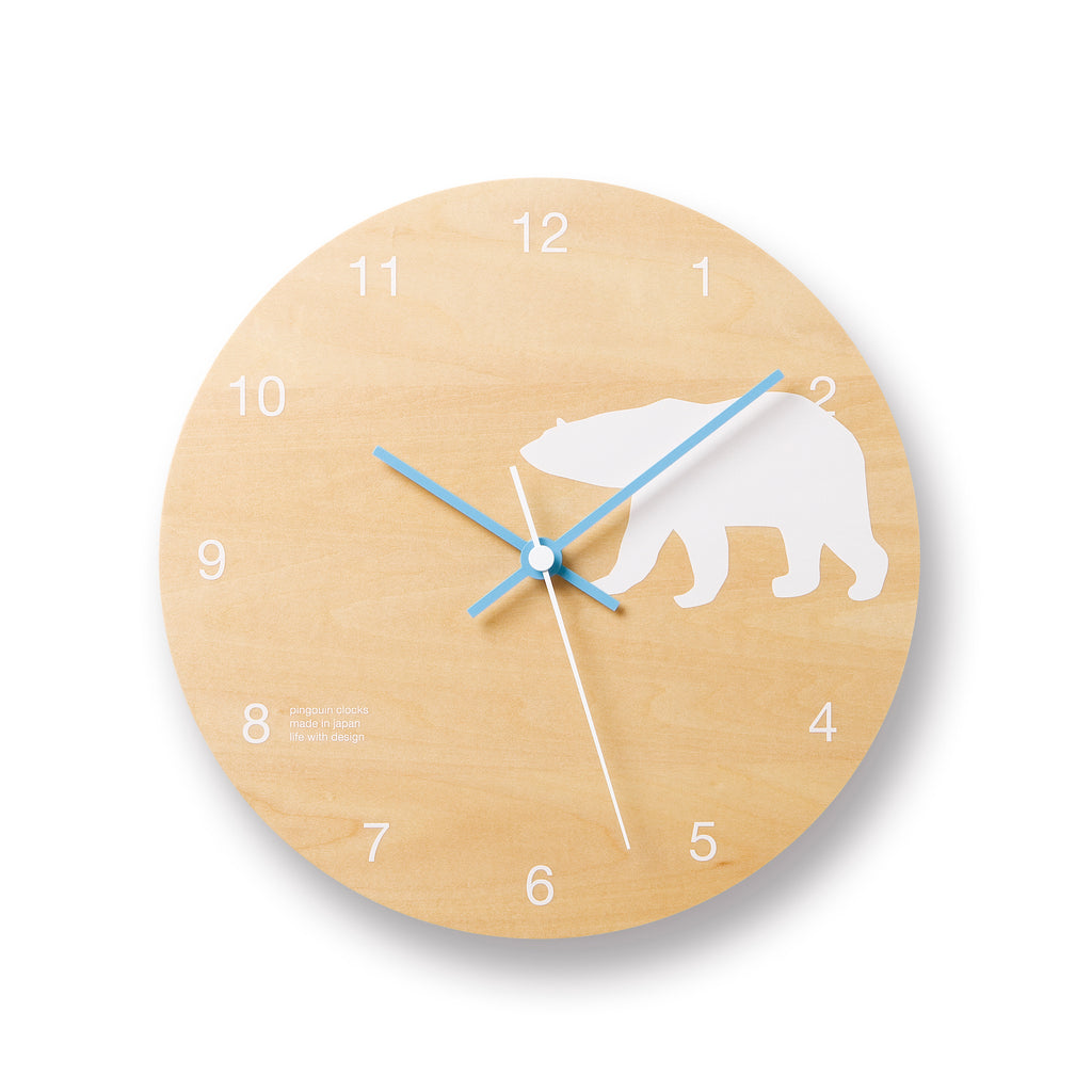 Shirokuma | Polar Bear Clock