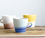 Artisan Hand Dipped Mugs