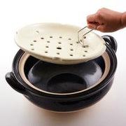 Mushi Donabe Steamer Black - Two Sizes | ZW-22 & ZW-18