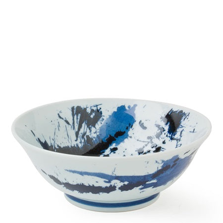 Blue Sumi Bowl - 7.75""