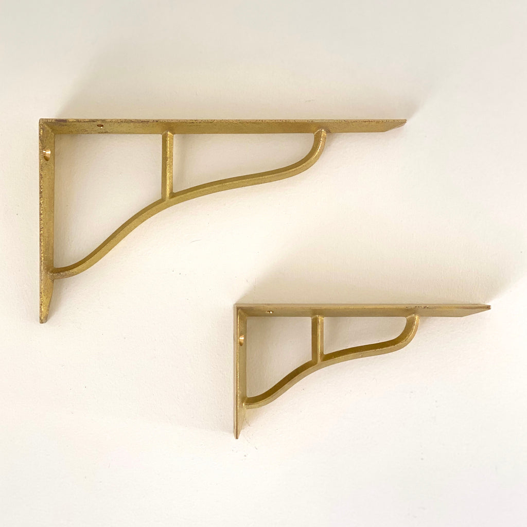 Brass Shelf Bracket
