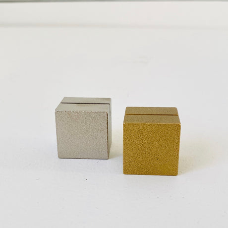 Brass Cube | Card Holder