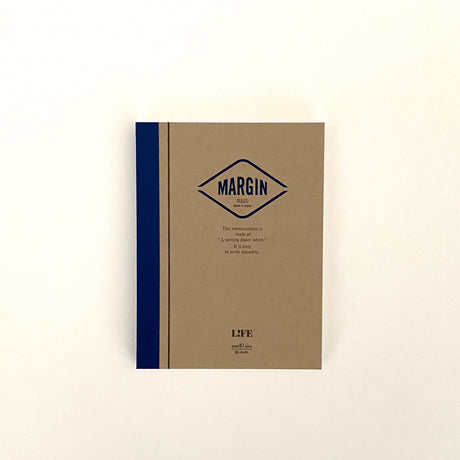 MARGIN Notebook Blue | Semi B7 | Ruled