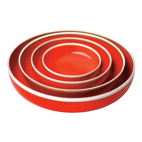Hermit Bowls | Coral Red