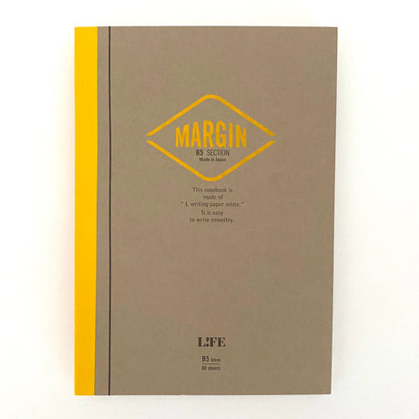 MARGIN Notebook Yellow | B5 | Grid