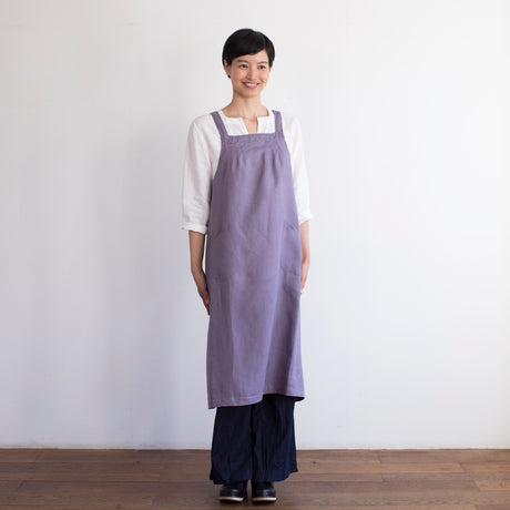 Salon Apron - Bruyere/Heather by Fog Linen