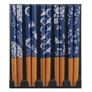 Blue & White Chopsticks Set