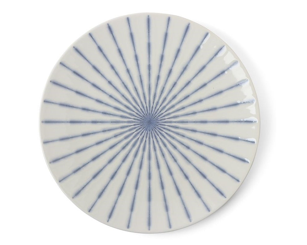 Tokusa Serving Plate | Periwinkle