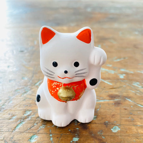 Maneki Neko - Lucky Cat  - 2 1/4""