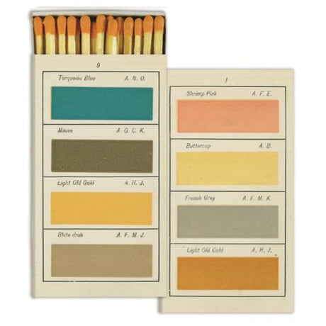 Painters Handbook Matches by John Derian