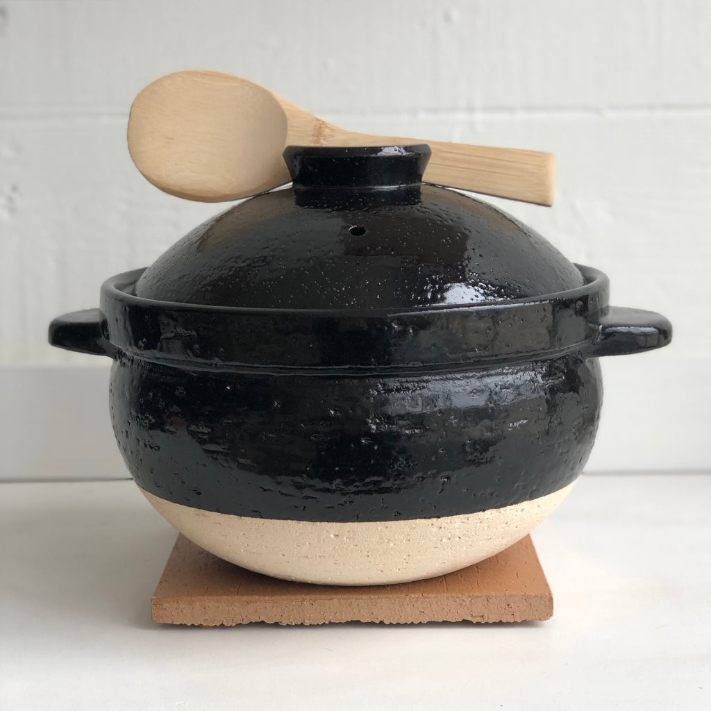 Kamado-san | Double-Lid Donabe Rice Cooker