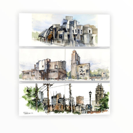 Mpls Note Card Set by Kar-Keat Chong