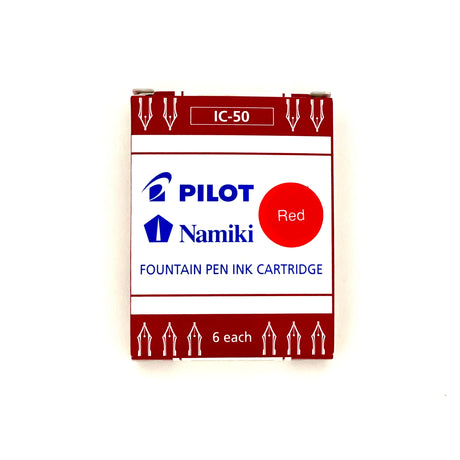 Pilot Namiki Ink | Red | Fountain Pen Ink Cartridge