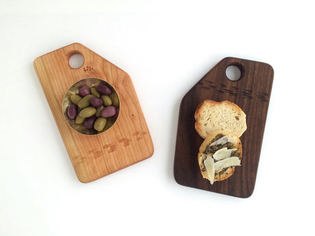 Small Wood Cutting Board - Teresa Audet