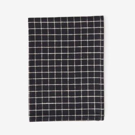 Black & White Grid Kitchen Cloth