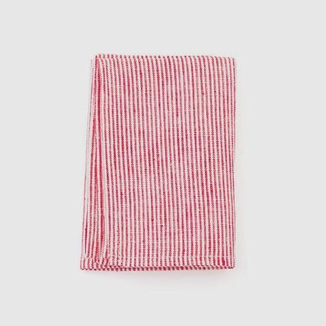 Thin Red & White Stripes Kitchen Cloth
