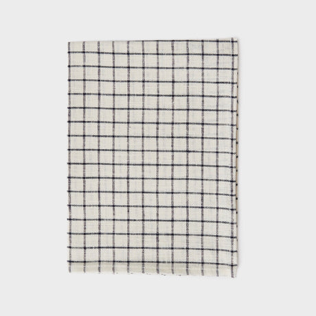 Ivory & Black Grid Kitchen Cloth