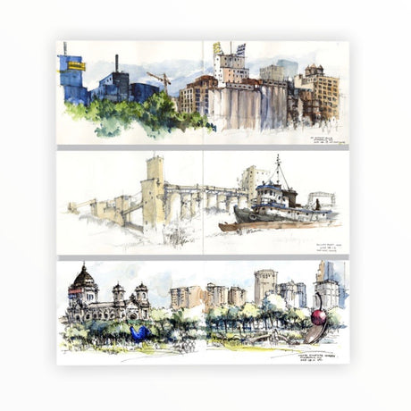 Mpls/Duluth Note Card Set by Kar-Keat Chong